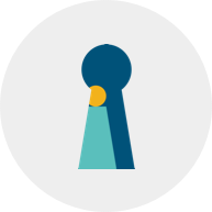 Circle keyhole